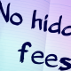 no fees whatsoever