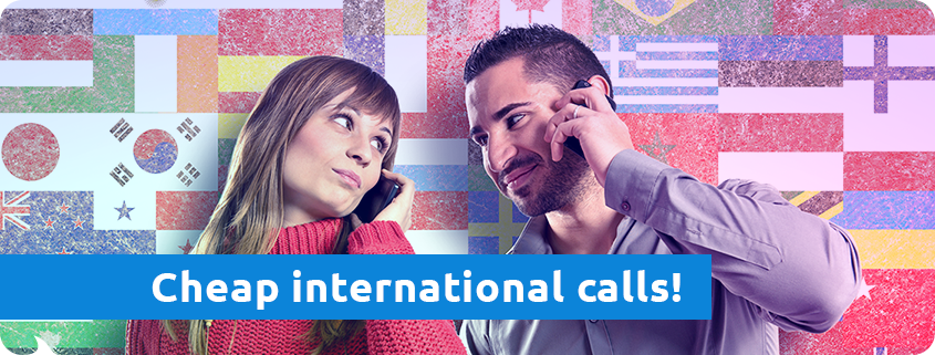 make international calls Tello