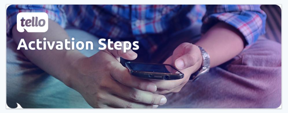 activation steps