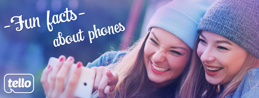 fun facts about mobile phones