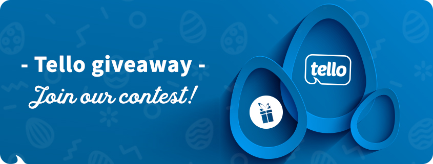 Tello's Easter Giveaway
