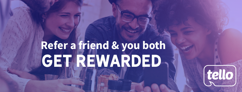 tello referral program