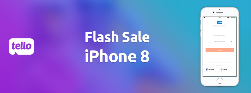 iPhone 8 Flash Sale