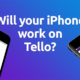 iPhone is compatible with Tello
