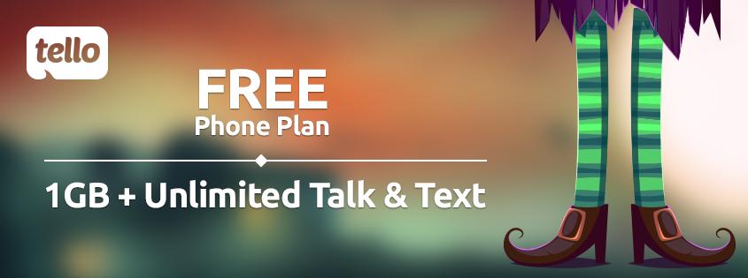 free Tello plan
