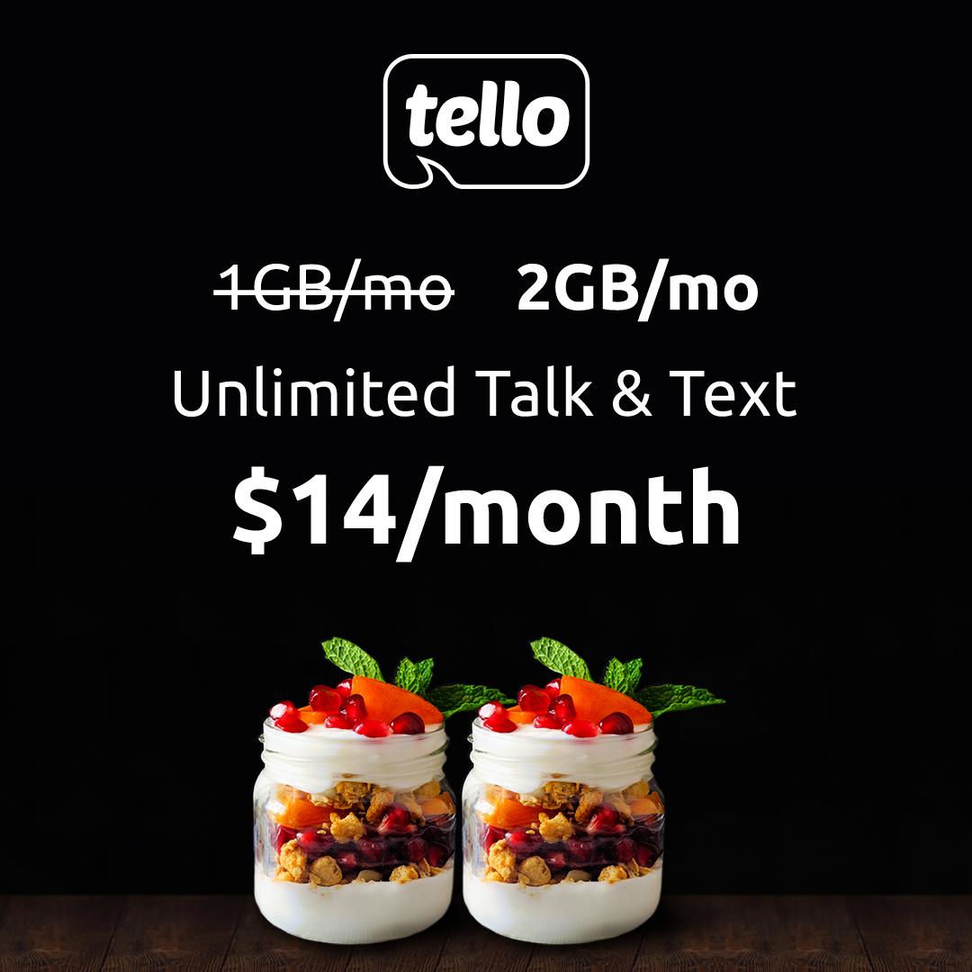 Tello Double Data