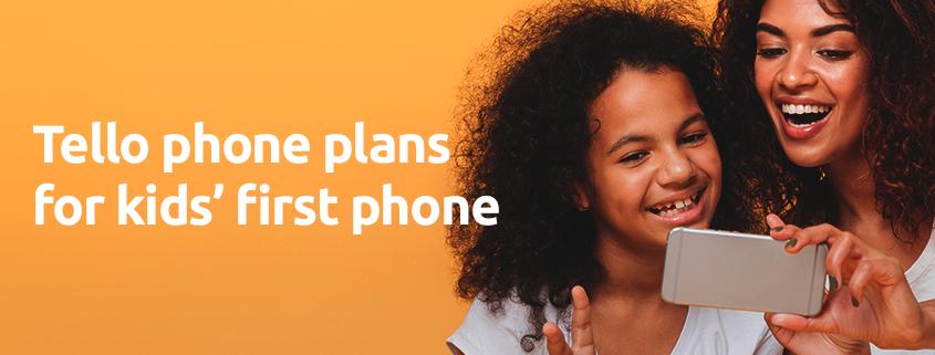 kids phone plans