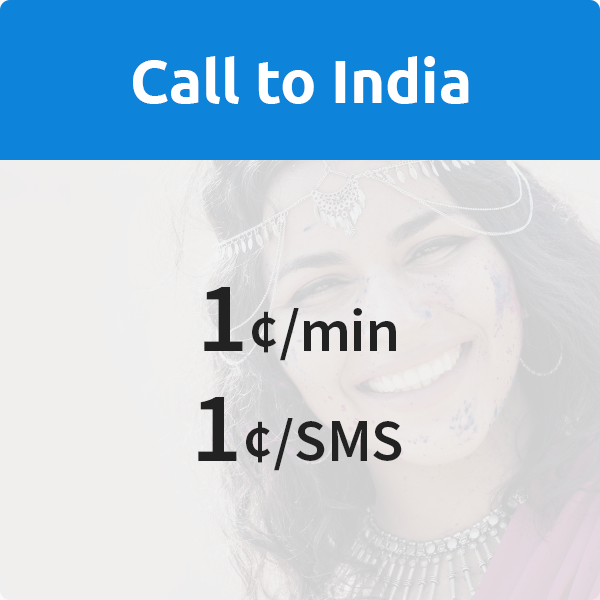 call india from US