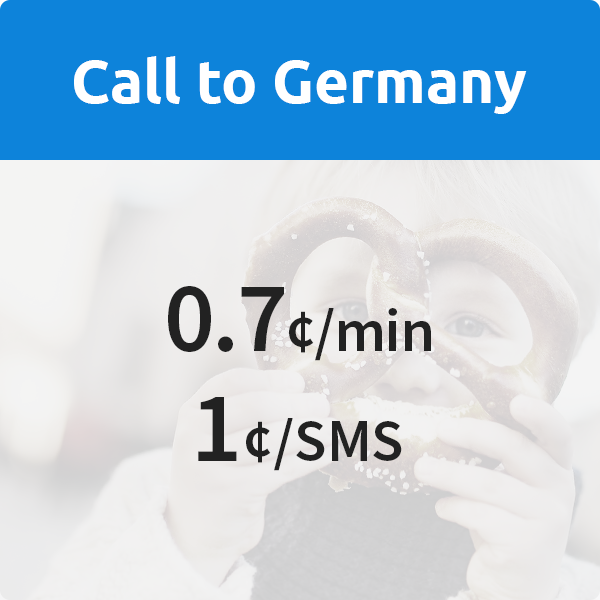 call germany from US