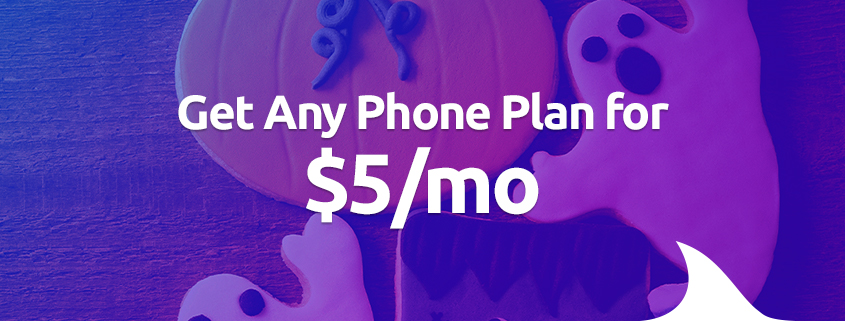 Get any plan for $5