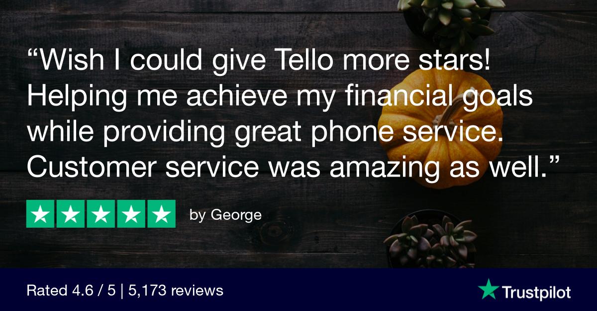 Join Tello & get $19 Free