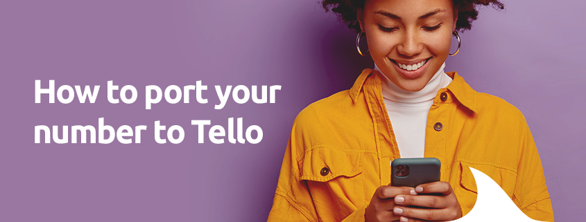 port your number to tello