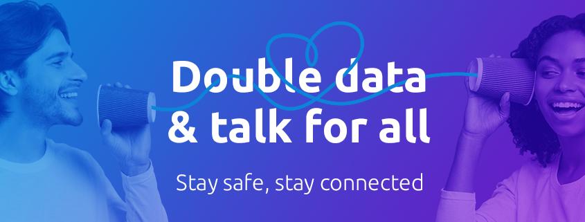 double data & talk