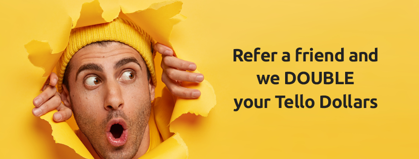 refer a friend to Tello