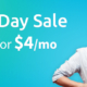 Labor Day SALE: 4GB for $4/mo