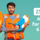 tello mobile 6-month deal 25% off