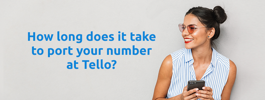 port-in your number at Tello Mobile