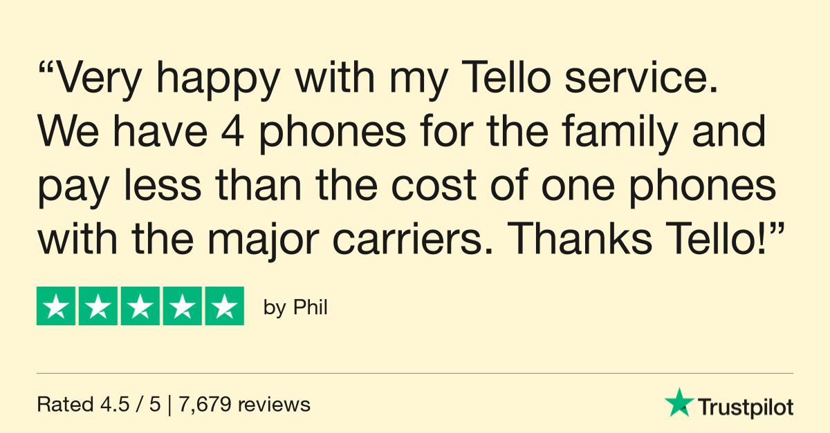 tello family plan
